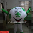 Supply Cartoon Doll Costume Ball Soccer Ball Brazil World Pregnant Baby Dolls Walking Image Advertising Mascot Costume