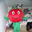 Supply Fruits and Vegetables Red Apple Cartoon Doll Doll Clothing Clothes Green Apple Walking Costume Mascot Costume