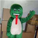Supply Green Snake Snake Cartoon Snake Mascot Costumes Doll Dolls Walking Cartoon Show Props Supplies