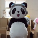 Supply Guiyang Changsha Nanjing Zhejiang Clothing Walking Cartoon Panda Show Props Mascot Costume