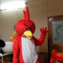 Supply Hongjin Props Plush Cartoon Clothing Apparel Christmas Clothing Celebration Will Serve Bird Mascot Costume
