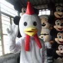 Zodiac Doll Clothing Cartoon Chicken Hen Poultry Mascot Costume