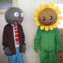 Supply Zombies Halloween Cartoon Doll Clothing Performance Clothing Performances Props Sunflowers Mascot Costume