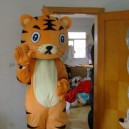 Cartoon Tiger Doll Clothes Doll Clothes Doll Clothing Advertising Planning Mascot Costume
