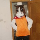 Cook Cow Performance Costumes Cartoon Doll Clothing Cartoon Show Clothing Mascot Costume