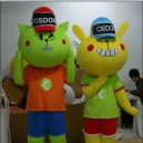 Supply Doll Clothing Cartoon Walking Doll Clothing Apparel Journey of Gordon Mascot Costume