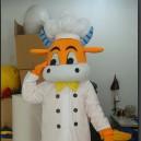 Guangxi Cow Costume Dolls Cartoon Clothing Apparel Mascot Costume