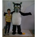 Supply Large Gray La Cartoon Clothing Performance Clothing Stage Props Walking Festive Supplies Wolf Mascot Costume