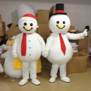 Supply Christmas Snowman Provide Clothes Cartoon Clothing Walking Doll Clothing Mascot Costume