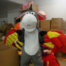 Supply Donkey Cartoon Child Costume Props Supplies Clothing Apparel Advertising Mascot Costume