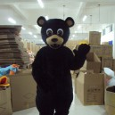 Supply Cartoon Costumes Props Apparel Black Bear Big Bear Walking Cartoon Doll Clothing Clothing Mascot Costume