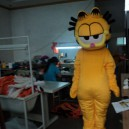Supply Coffee Cat Cartoon Clothing Cartoon Costumes Cartoon Walking Doll Clothing Performance Clothing Props Garfield Mascot Costume