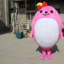 Supply Doll Clothing Cartoon Rooster Chicken Hen Props Apparel Clothing Walking Doll Clothing Mascot Costume