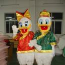 Supply Donald Duck Cartoon Clothing Doll Clothing Cartoon Walking Doll Clothing Model Props Mascot Costume