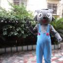 Supply Pleasant Wolf Series Adult Walking Cartoon Doll Clothing Apparel Small Gray Mascot Costume