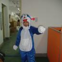 Supply Shanghai Cartoon Costumes A Dream Doraemon Doll Dress Faceless Children Headgear Apparel Fashion Show Mascot Costume