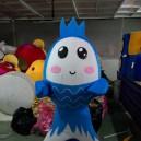 Supply Shanghai Cartoon Doll Clothing Doll Clothing Small Crucian Carp Bulk of Walking Doll Clothing Mascot Costume