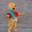Supply Shanghai Winnie The Pooh Cartoon Costumes Performing Props Walking Dolls Clothing Bear Walking Doll Clothing Mascot Costume