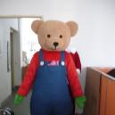 Supply Bear Cartoon Bear Cartoon Dolls Doll Clothing Performance Clothing Walking Doll Clothing Mascot Costume
