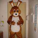 Supply Cartoon Doll Clothing Doll Clothing Walking Small Gray Rabbit Rabbit Plush Toys Cartoon Costumes Mascot Costume