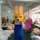 Supply Little Bunny Rabbit Cartoon Doll Clothing Cartoon Costumes Walking Cartoon Doll Clothing Mascot Costume