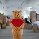 Supply Love Bear Bear Cartoon Dolls Cartoon Clothing Cosplay Costumes Walking Doll Clothing Mascot Costume