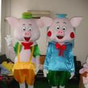 Supply Piggy Pig Cartoon Dolls Dress Clothes Cosplay Brothers Dolls Walking Clothing Cartoon Costumes Mascot Costume