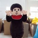 Supply Qiqi Cartoon Monkey Dolls Clothing Walking Doll Clothing Doll Clothing Cartoon Doll Toy Mascot Costume