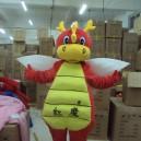Red Devils Dragon Dragon Cartoon Costumes Walking Cartoon Doll Doll Clothing Doll Dragon Walking Clothing Mascot Costume