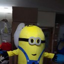 Supply Shanghai Cartoon Costumes Doll Small Yellow People Despicable Me Walking Doll Clothing Bulk Mascot Costume