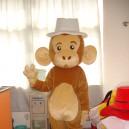 Supply Shanghai Cartoon Dolls Loaded Bulk of The Small Monkey Jumping Monkey Cartoon Gorilla Costume Mascot Costume