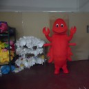 Supply Shanghai Lobster Red Shrimp Cartoon Dolls Cartoon Clothing Props Crayfish Shrimp Grass Shrimp Mascot Costume