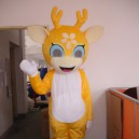 Supply Sika Deer Walking Doll Clothing Doll Clothing Walking The Opening Ceremony of The Dragon Animal Clothing Apparel Mascot Costume