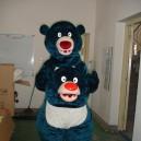 Supply Cartoon Doll Clothing Bear Big Blue Bear Walking Doll Clothing Cartoon Dolls Bulk Mascot Costume