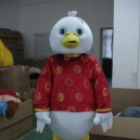 Supply Duck Cartoon Dolls Dress Costumes Bulk Ducklings Walking Doll Clothing Mascot Costume