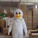 Supply Eagle Cartoon Bird Cartoon Doll Clothing Cartoon White Eagle Headgear Walking Doll Clothing Props Mascot Costume