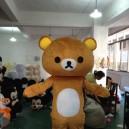 Supply Easily Bear Dolls Walking Clothing Curious Bear Doll Clothing Cartoon Walking Doll Lazy Bear Caps Mascot Costume