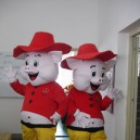 Supply Happy Pig Piggy Brothers Walking Doll Clothing Doll Clothing Cartoon Pig Mascot Costumes Show