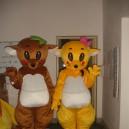 Supply Kangaroo Little Mouse Cartoon Clothing Performance Clothing Walking Doll Clothing Doll Headgear Mascot Costume