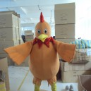 Supply Manufacturers Poultry Cartoon Clothing Cartoon Dolls Decorated with Large Old Hen Rooster Stage Costumes Mascot Costume