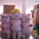 Supply Mcdull Pig Cartoon Costumes Japan This Pig Cartoon Costumes Cartoon Doll Clothing Cartoon Character Props Caps Mascot Costume
