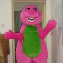 Supply Shanghai Red Dragon Barney Cartoon Clothing Cartoon Costumes Walking Cartoon Dolls Dress Caps Mascot Costume