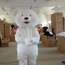 Supply Small Polar Bear Winnie The Cartoon Mascot Costume Cartoon Doll Clothing Cartoon Show