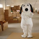 Supply Snoopy Cartoon Dolls Walking Clothing on White Snoopy Cartoon Puppy Doll Clothing Costumes Mascot Costume