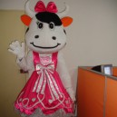 Supply Walking Cartoon Doll Clothing Cartoon Walking Doll Clothing Cow Bull Costumes Mascot Costume