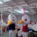Supply Bai Hefei Birds Walking Doll Cartoon Clothing Props Mascot Cartoon Show Clothing Apparel Companies Mascot Costume