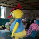 Supply Big Old Hen Rooster Cartoon Dolls Cartoon Clothing Cartoon Chick Cock Props Performance Clothing Mascot Costume