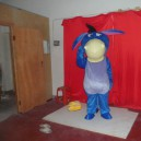 Supply Blue Donkey Cartoon Donkey Cartoon Dolls Dolls Walking Clothing Dress Costumes Costumes Mascot Costume