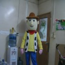Supply Cartoon Costumes Toy Story Hu Di Basi Light Cartoon Walking Doll Clothing Doll Clothing Mascot Costume