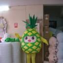 Supply Cartoon Doll Clothing Pineapple Papaya Fruit Props Walking Doll Clothing Cartoon Show Clothing Mascot Costume